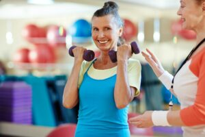 Self-care means exercising more